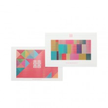 조각보 렌티큘러 엽서 SETKorean Patchwork postcard SET