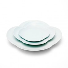 네잎꽃 접시 3종 SETflower shape dishes SET