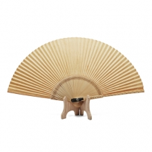 황칠선Korean traditional yellow lacquer fan