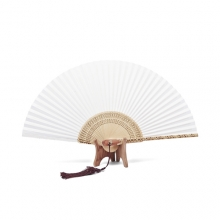합죽선(백선)Korean traditional fan