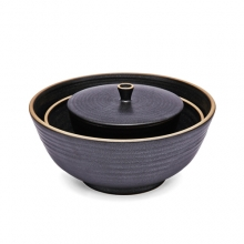 흑유도자 밥,국,면기 SETBlack Glazed Ceramics bowl SET