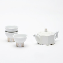 백자자개 다기SETCeramic teapot SET