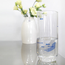 산수화 유리컵Korean pattern Glass